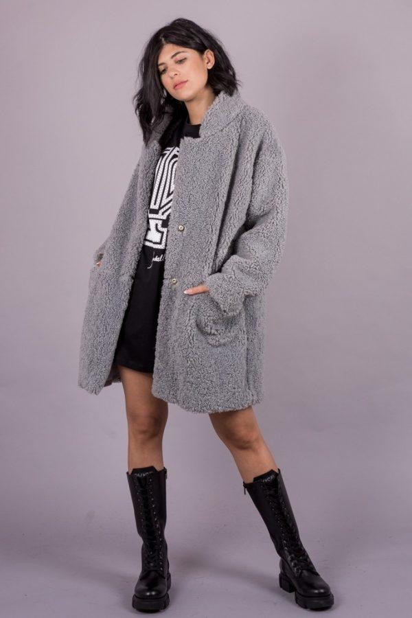 Γυναικεία Ρούχα Milla Γούνινο Πανωφόρι
