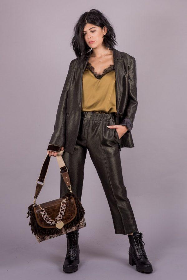 Γυναικεία Ρούχα Milla Παντελόνι Γυαλιστερό