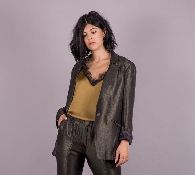Γυναικεία Ρούχα Milla Σακάκι Γυαλιστερό