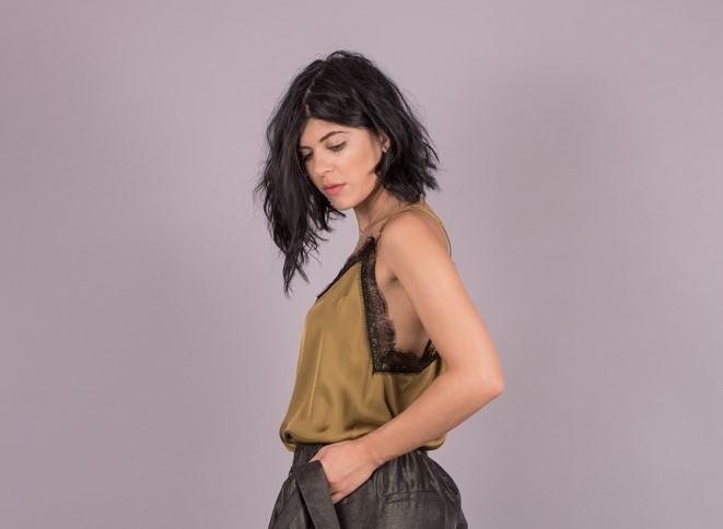 Γυναικεία Ρούχα Milla Lingerie Σατέν Τοπ