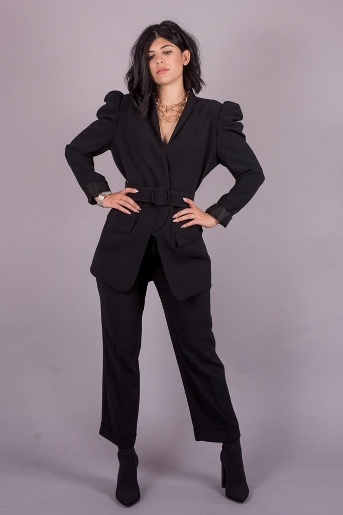 Γυναικεία Ρούχα My Tiffany Σακάκι Μεσάτο Με Βάτες