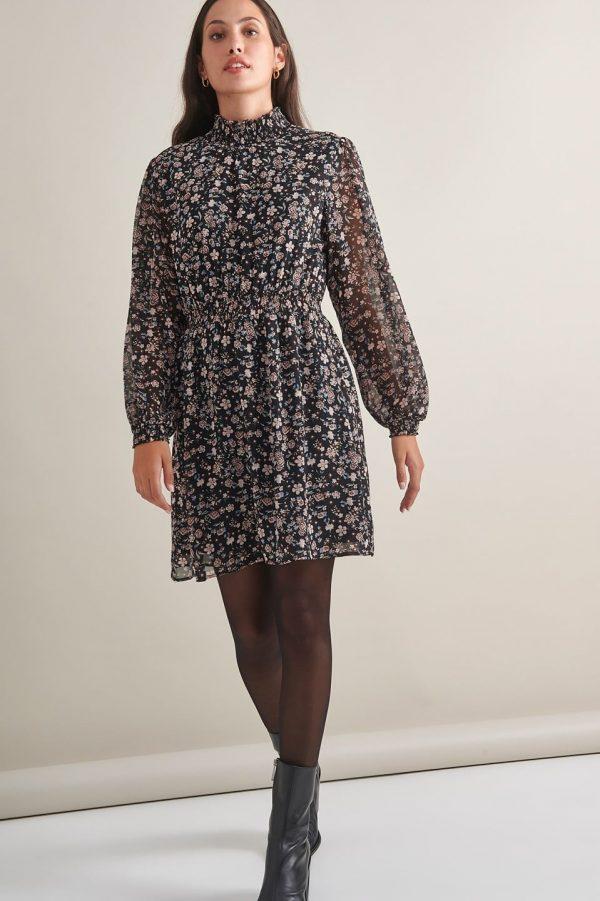 Γυναικεία Ρούχα My Tiffany Φόρεμα Zebra Print