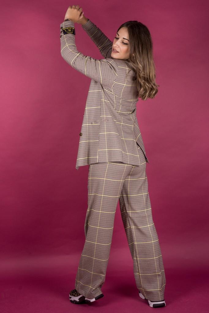 Γυναικεία Ρούχα Scotch & Soda Σακάκι Καρό