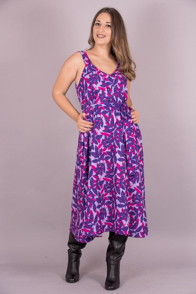 Γυναικεία Ρούχα WE_ARE SLEEVELESS MIDI DRESS