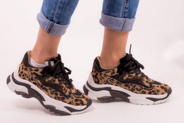 Παπούτσια Ash Addict ter Combo Sneakers leopar