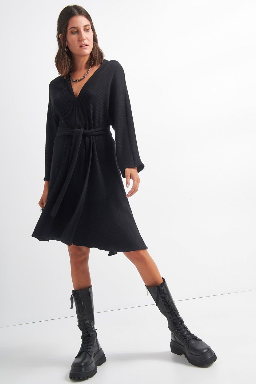Γυναικεία Ρούχα BLACK&BLACK ΦΟΡΕΜΑ ΡΙΜΠ
