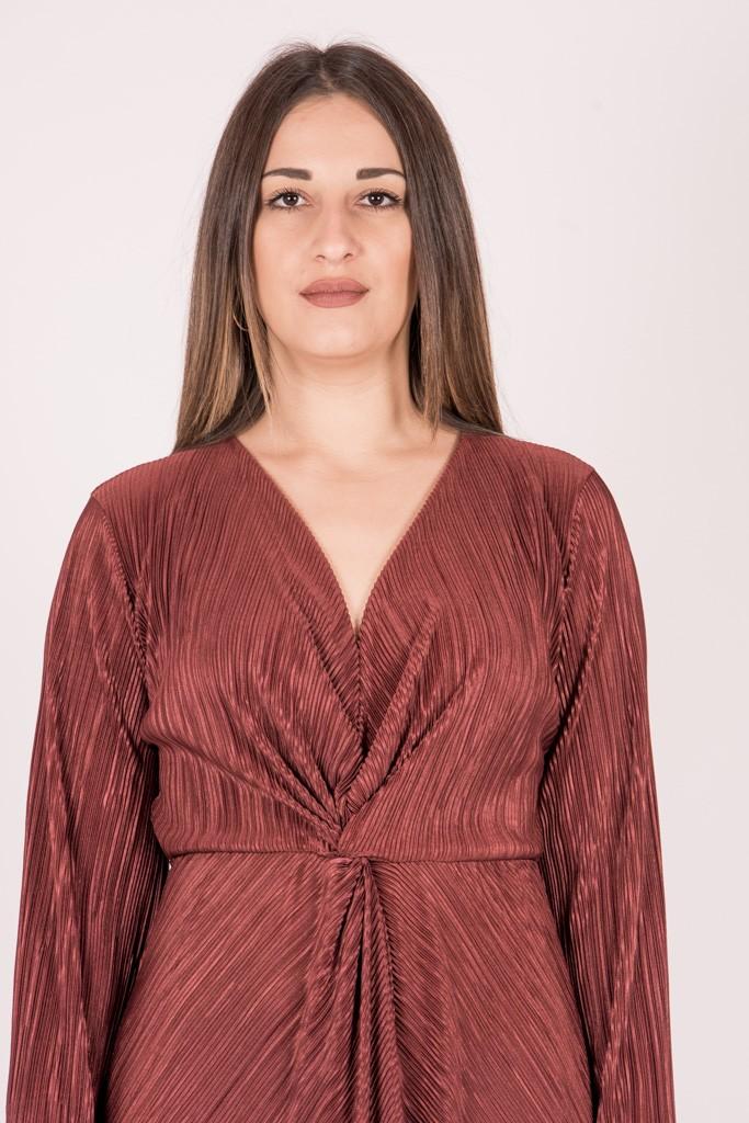 Γυναικεία Ρούχα CKONTOVA DRESS PLUM