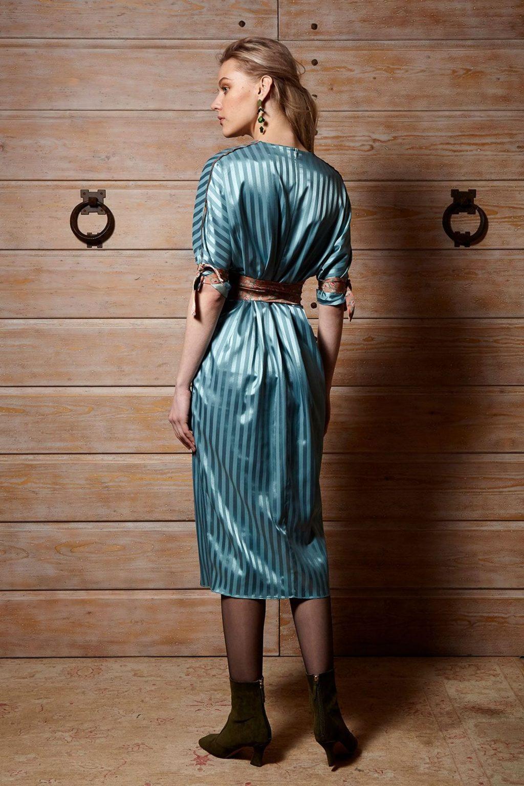 Γυναικεία Ρούχα Cristina Beatiful Life Rain Φόρεμα