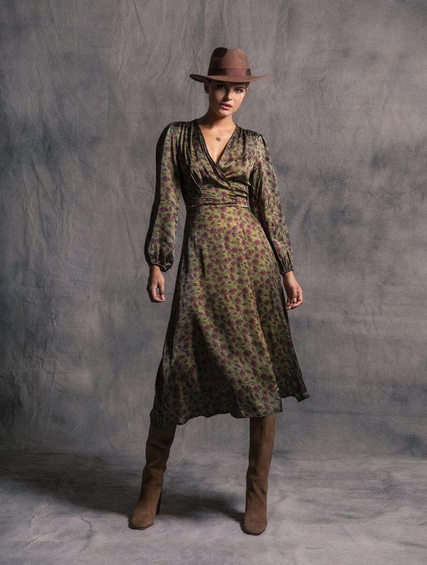 Γυναικεία Ρούχα LACE BOHO ΦΟΡΕΜΑ ΔΕΡΜΑΤΙΝΗ
