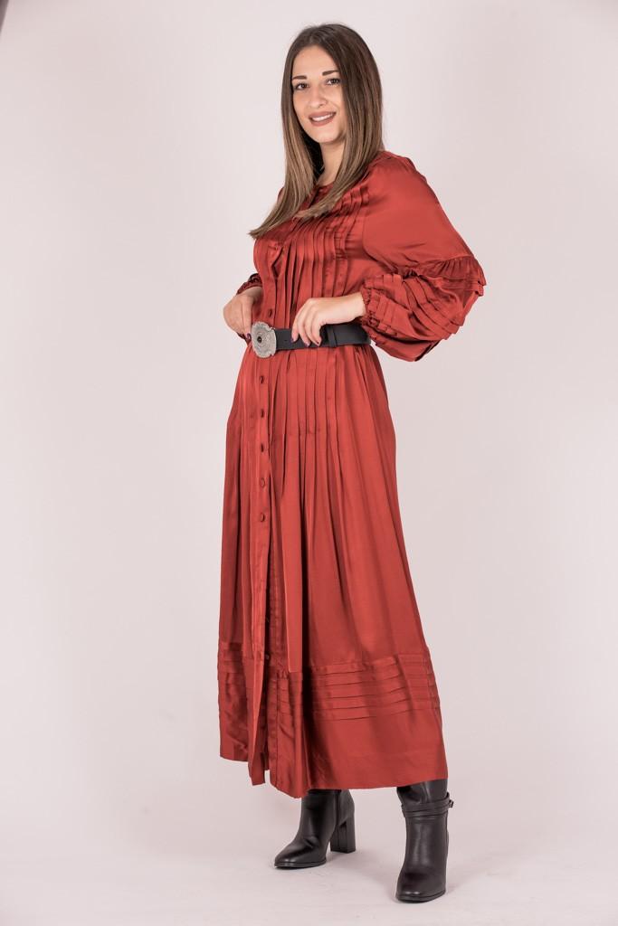 Γυναικεία Ρούχα LACE MIDI SHIRT DRESS