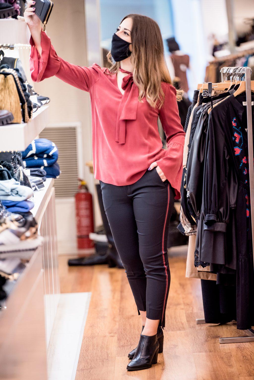Γυναικεία Ρούχα MICHAEL KORS Loose Fit Blouse