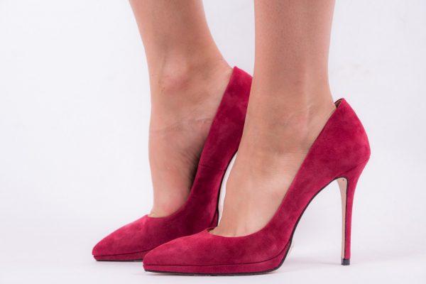 Παπούτσια Mourtzi Suede Γόβες