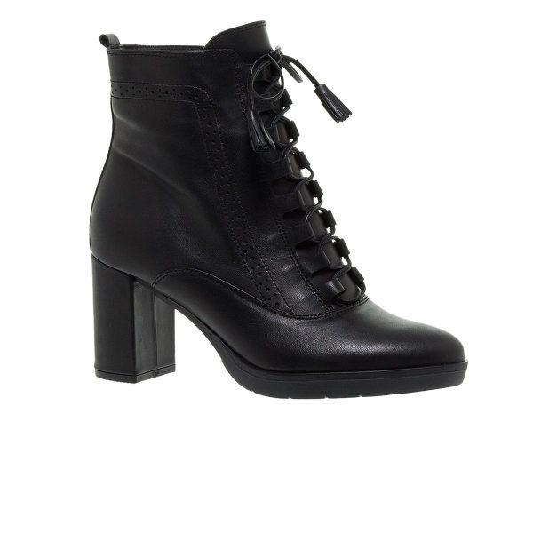 Παπούτσια Mourtzi Δερμάτινα Δετά Μποτάκια