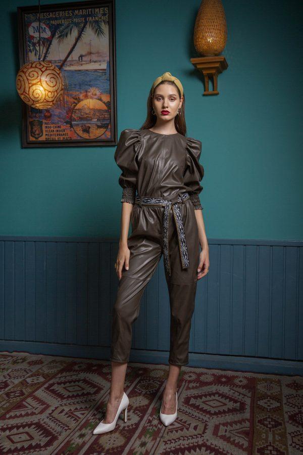 Γυναικεία Ρούχα BLACK&BLACK ΠΑΝΤΕΛΟΝΙ ΠΛΕΚΤΟ