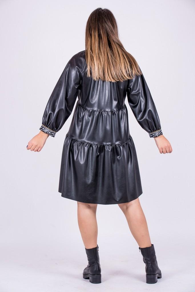 Γυναικεία Ρούχα NEMA ΦΟΡΕΜΑ ΔΕΡΜΑΤΙΝΗ