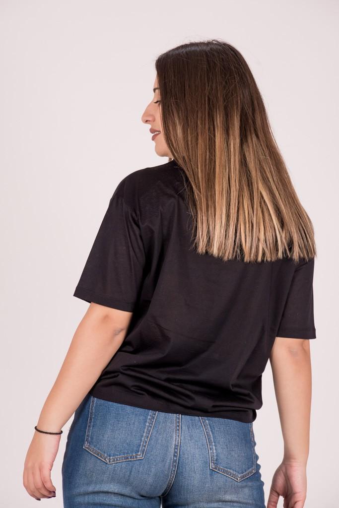 T-Shirts SCOTCH&SODA T-SHIRT ΜΕ ΣΤΑΜΠΑ