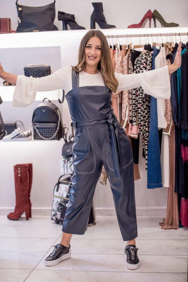 Γυναικεία Ρούχα STEFANIA VAIDANI ΔΕΡΜΑΤΙΝΗ ΟΛΟΣΩΜΗ ΦΟΡΜΑ