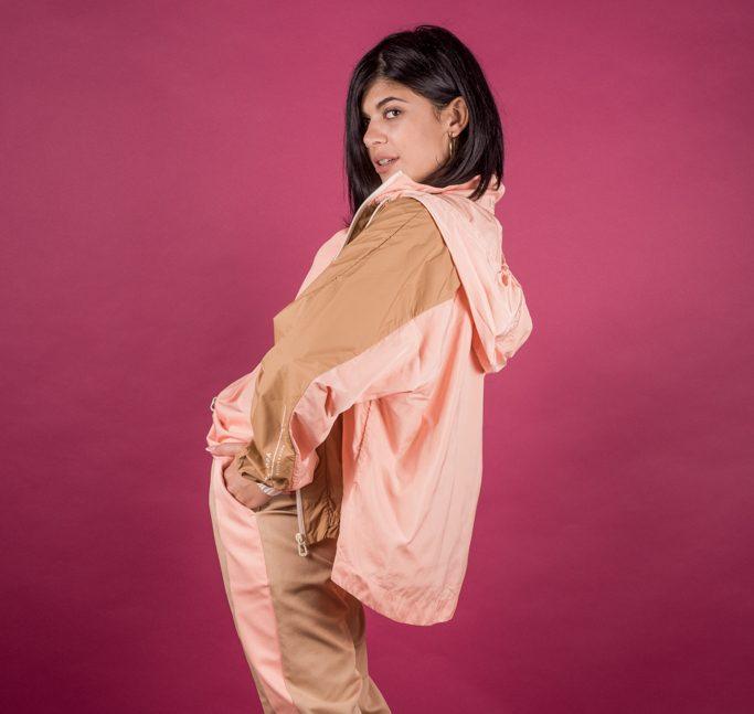 Γυναικεία Ρούχα Scotch&Soda Μπουφάν Αδιάβροχο Μπεζ Σομόν