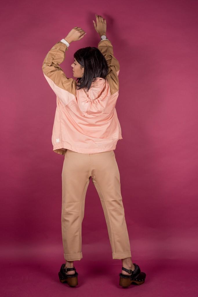 Γυναικεία Ρούχα Scotch&Soda Παντελόνι Μπεζ Σομόν