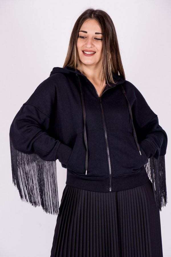 Γυναικεία Ρούχα TWIN-SET BOMBER ΜΕ ΚΡΟΣΙΑ