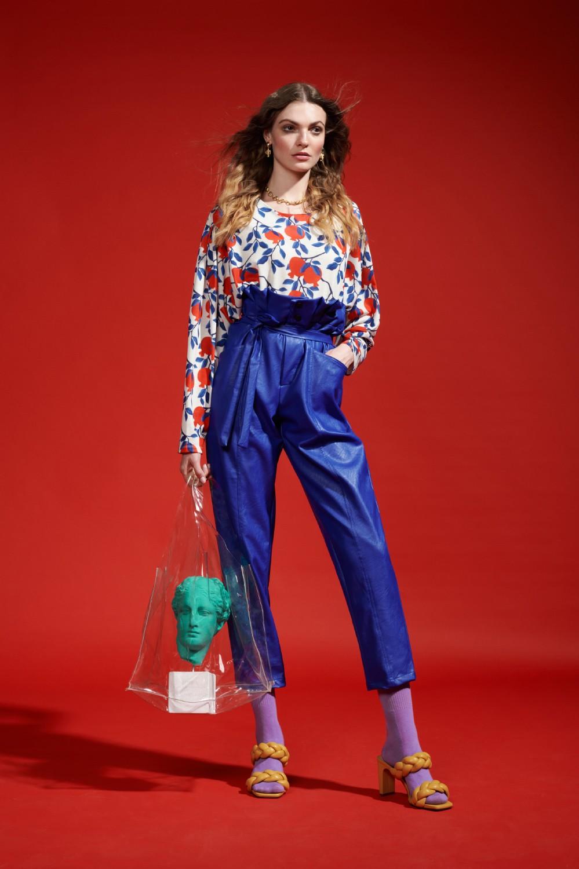 Γυναικεία Ρούχα WE_ARE PAPER BAG WAIST PANTS