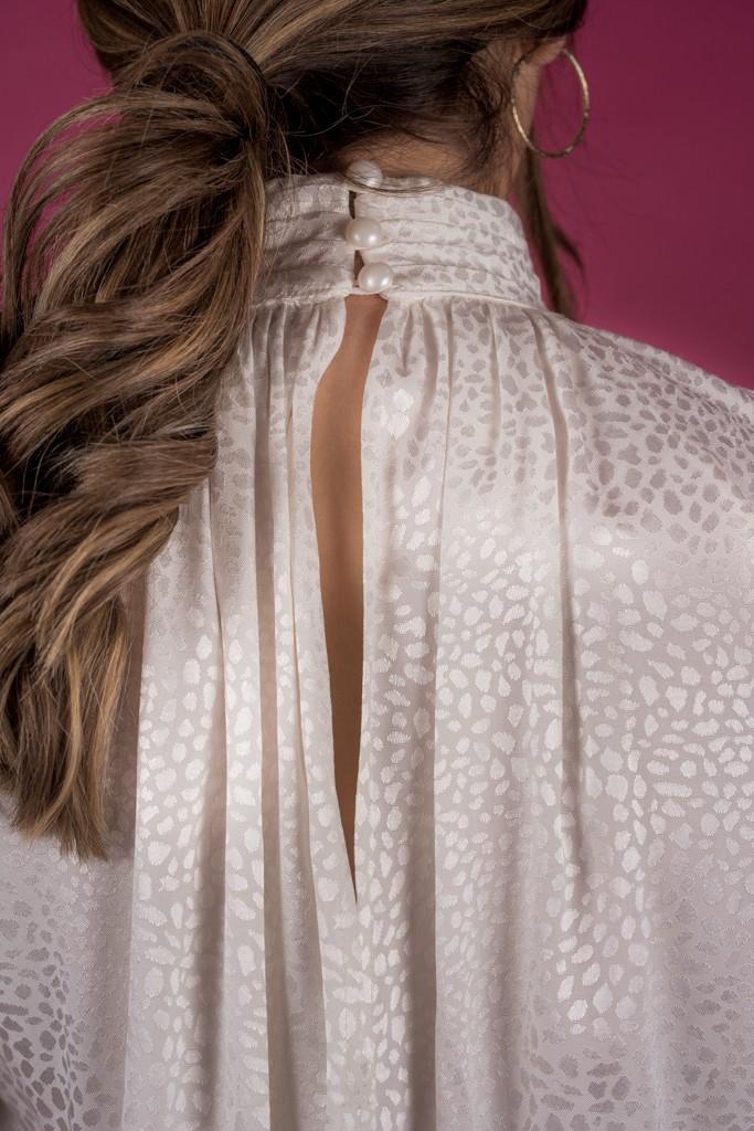Γυναικεία Ρούχα AVANT GARDE ΠΟΥΚΑΜΙΣΑ OFF WHITE
