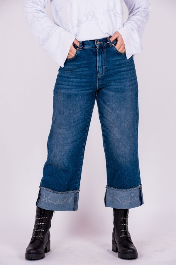 Jeans KENDALL+KYLIE JEAN TURN UP