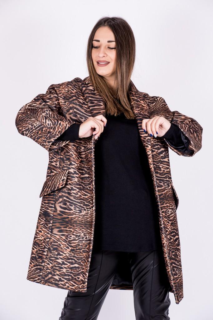 Γυναικεία Ρούχα MILLA ANIMAL PRINT COAT
