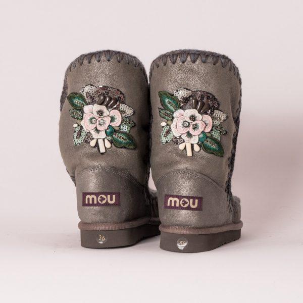 Μπότες - Μποτάκια MOU ESKIMO FLOWER PATCH