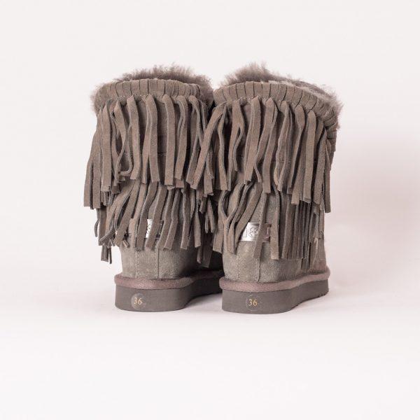 Παπούτσια MOU ESKIMO KNIT SHEEPSKIN