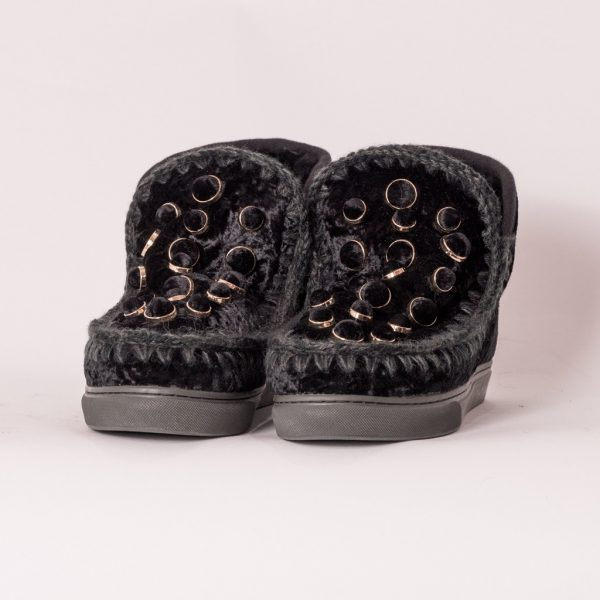 Παπούτσια MOU ESKIMO SNEAKER VELVET
