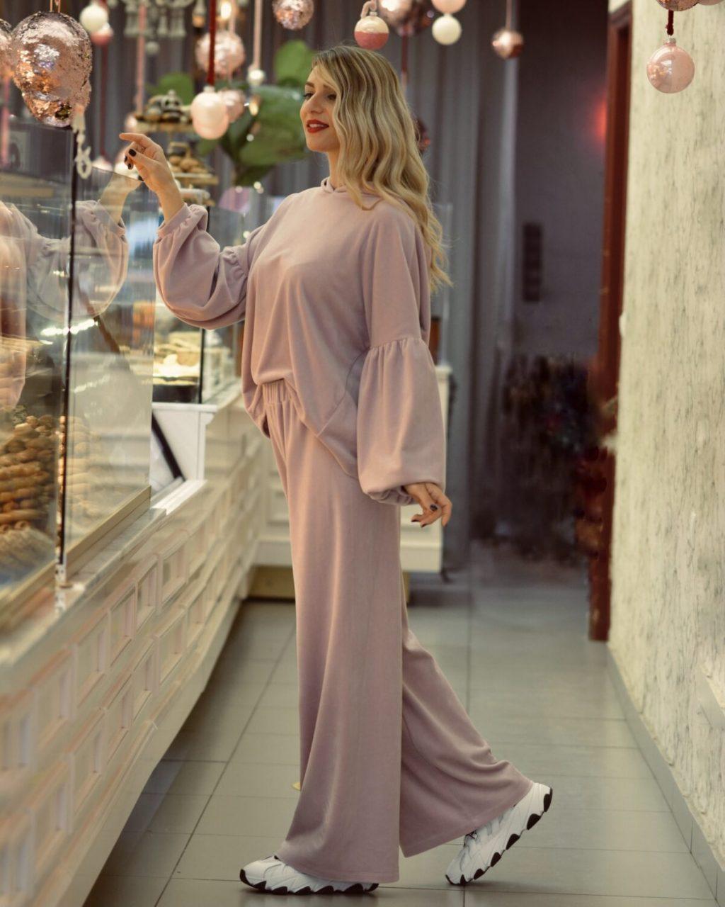 Γυναικεία Ρούχα NEMA SET VELVET ΦΟΡΜΑ