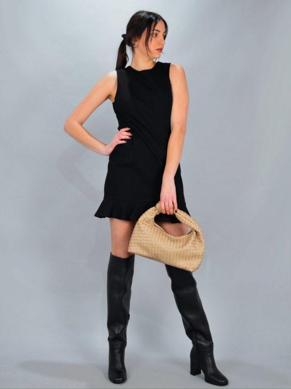 Γυναικεία Ρούχα AVANT GARDE ΦΟΡΕΜΑ ΜΕ ΑΝΟΙΧΤΗ ΠΛΑΤΗ