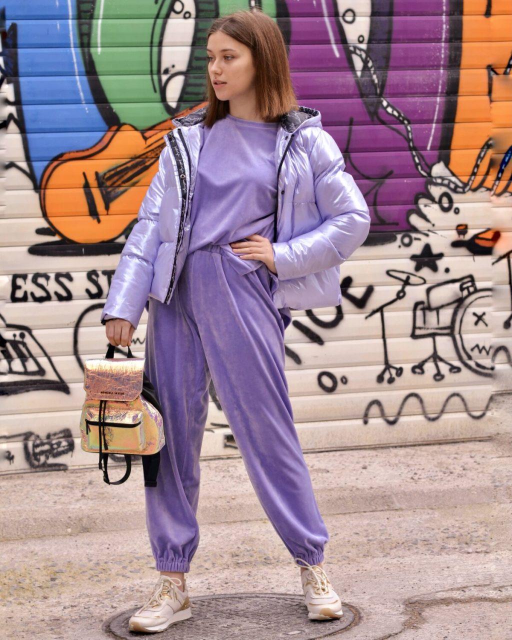 Γυναικεία Ρούχα NEMA ΦΟΡΜΑ VELVET ΜΕ ΛΑΣΤΙΧΟ