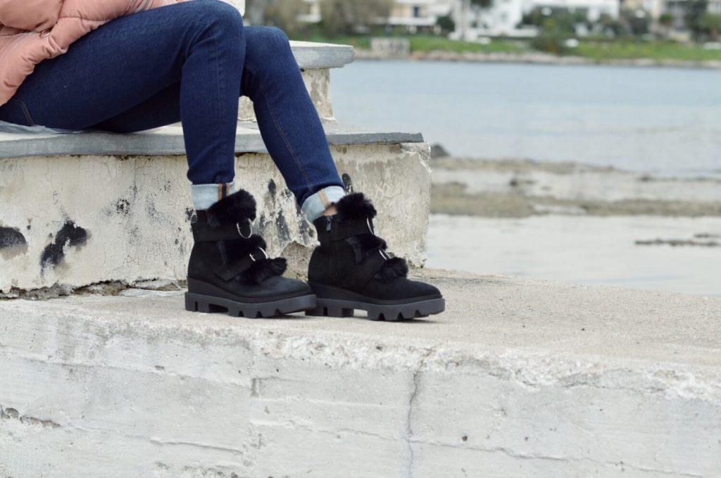 Μπότες - Μποτάκια MAKRIS SUEDE BOOTS