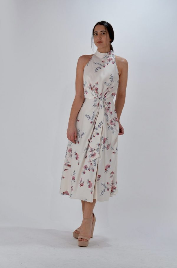 Collection Spring - Summer 2021 TED BAKER HALTERNECK OCCASION DRESS