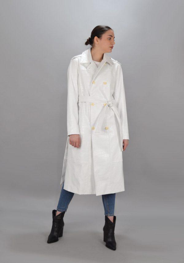 Γυναικεία Ρούχα TWIN-SET ΚΑΠΑΡΝΤΙΝΑ ΜΕ CROCO PRINT
