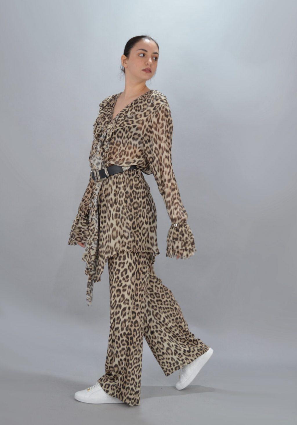 Γυναικεία Ρούχα TWIN-SET LEOPAR OUTFIT