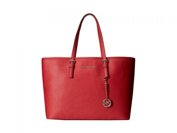 σε Προσφορά MICHAEL KORS JET SET TRAVEL SCARLET BAG