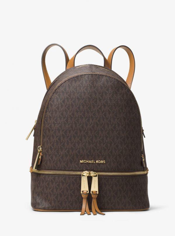 Collection Spring - Summer 2021 Michael Kors Rhea Medium Logo Backpack
