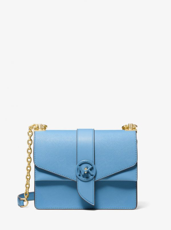 Collection Spring - Summer 2021 Michael Kors Greenwich Small Saffiano Leather Crossbody Bag