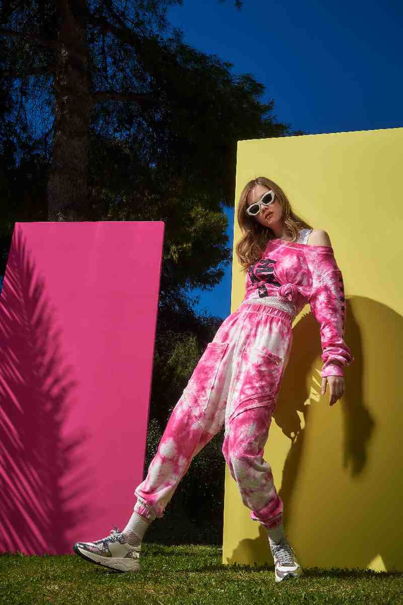Collection Spring - Summer 2021 CMANOLO JOGGER PANTS TIE DYE