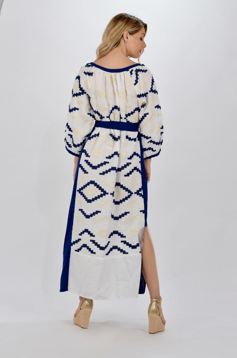 Collection Spring - Summer 2021 KORI-GREEK ARCHAIC MAXI KAFTAN DRESS