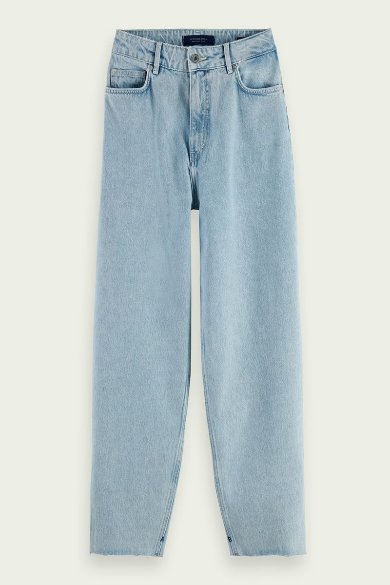 Collection Spring - Summer 2021 SCOTCH&SODA BALLOON FIT COTTON JEANS – CRYSTALIZED IN TIME