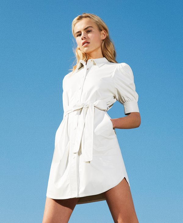 Collection Spring - Summer 2021 TWIN-SET SHIRT-DRESS WITH BELT