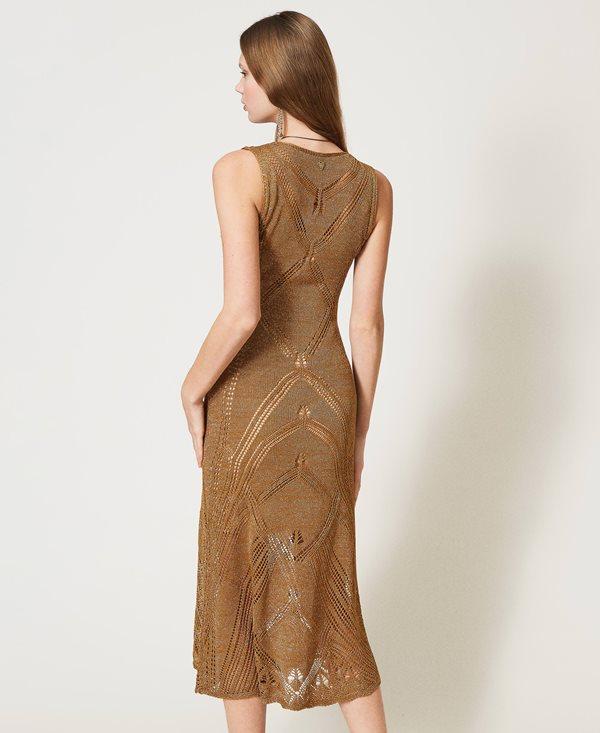 Collection Spring - Summer 2021 TWIN-SET LUREX THREAD DRESS
