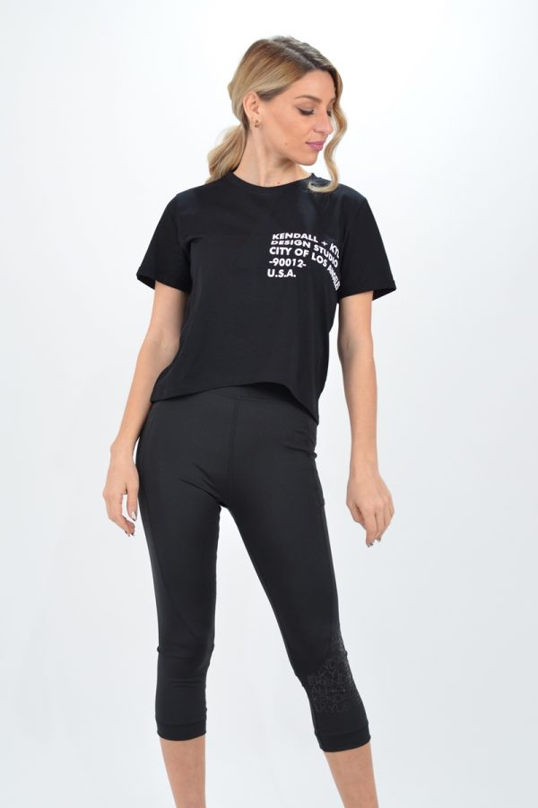 Collection Spring - Summer 2021 KENDALL + KYLIE CLASSIC LOGO T-SHIRT