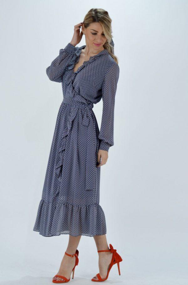Collection Spring - Summer 2021 MICHAEL KORS MINI BICOLOR 60S FLORAL DRESS
