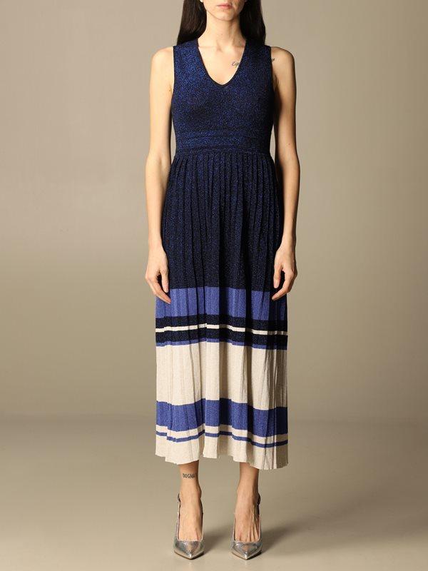 Collection Spring - Summer 2021 TWIN-SET FLORAL-PRINT SHORT-SLEEVED DRESS