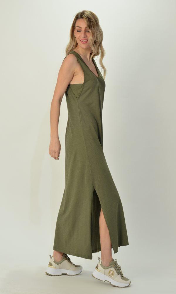 Collection Spring - Summer 2021 FOURMINDS SLEEVELESS COTTON DRESS